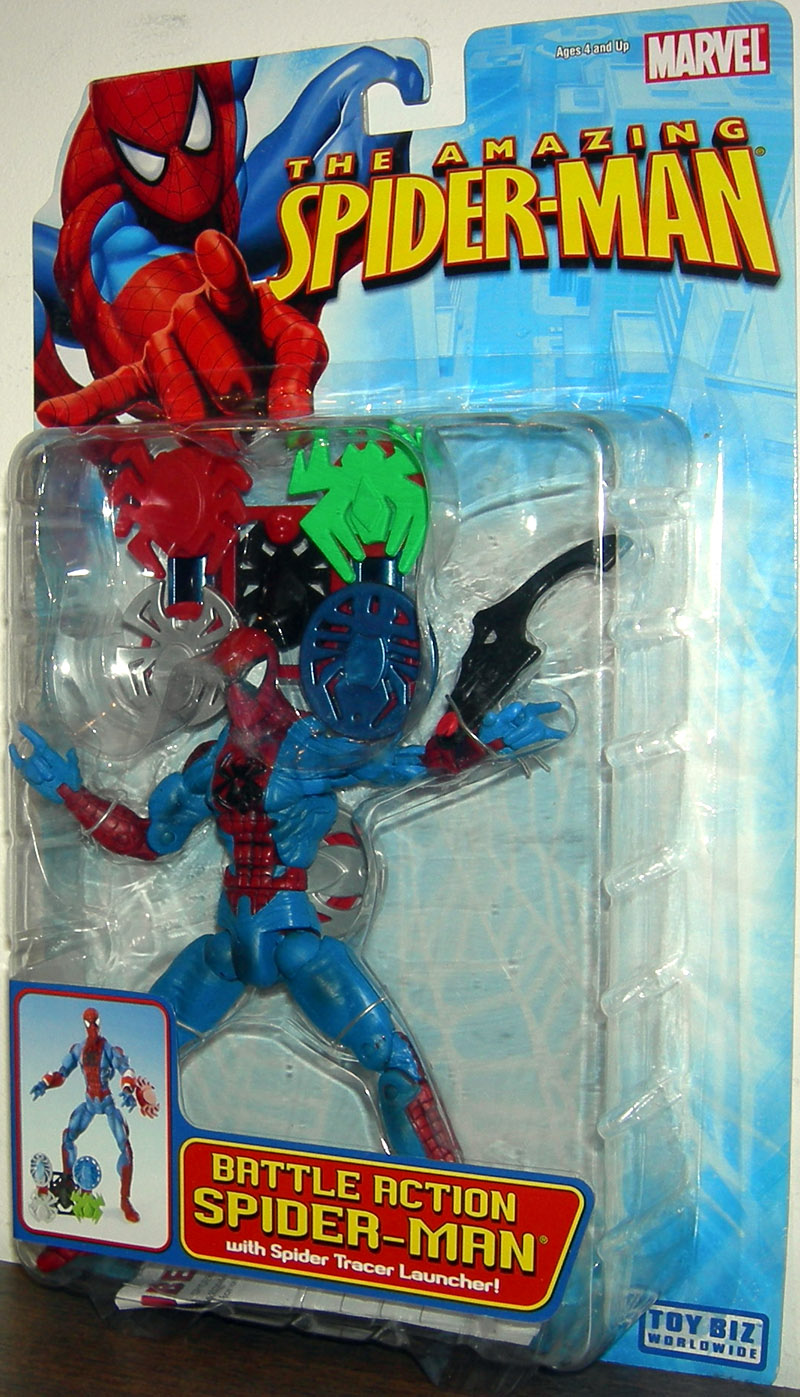 Battle Action Spider-Man (The Amazing Spider-Man)