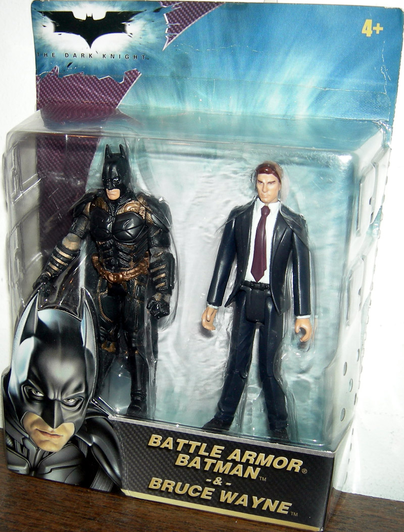 Battle Armor Batman & Bruce Wayne 2-Pack (The Dark Knight)