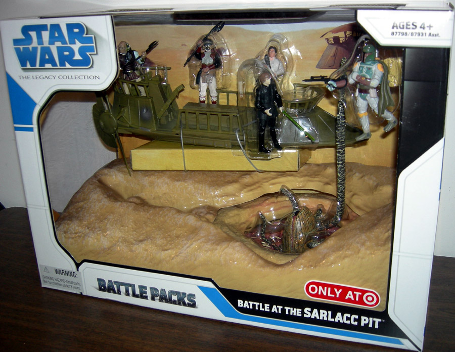 Battle At The Sarlacc Pit Battle Packs (The Legacy Collection)
