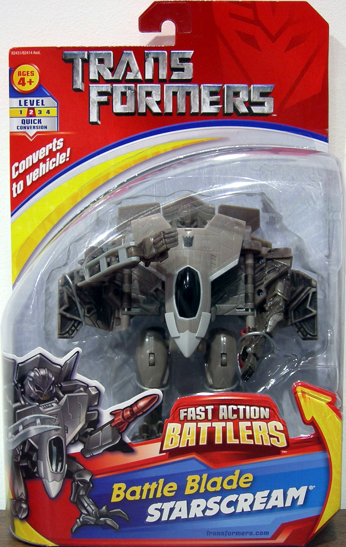 Battle Blade Starscream (Fast Action Battlers)