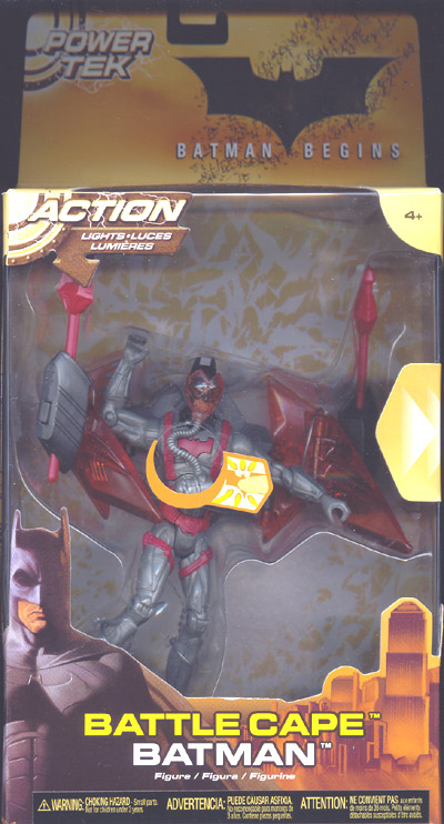 Battle Cape Batman (Batman Begins deluxe)