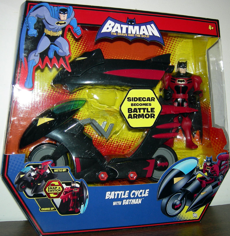 Battle Cycle with Batman (The Brave and The Bold)