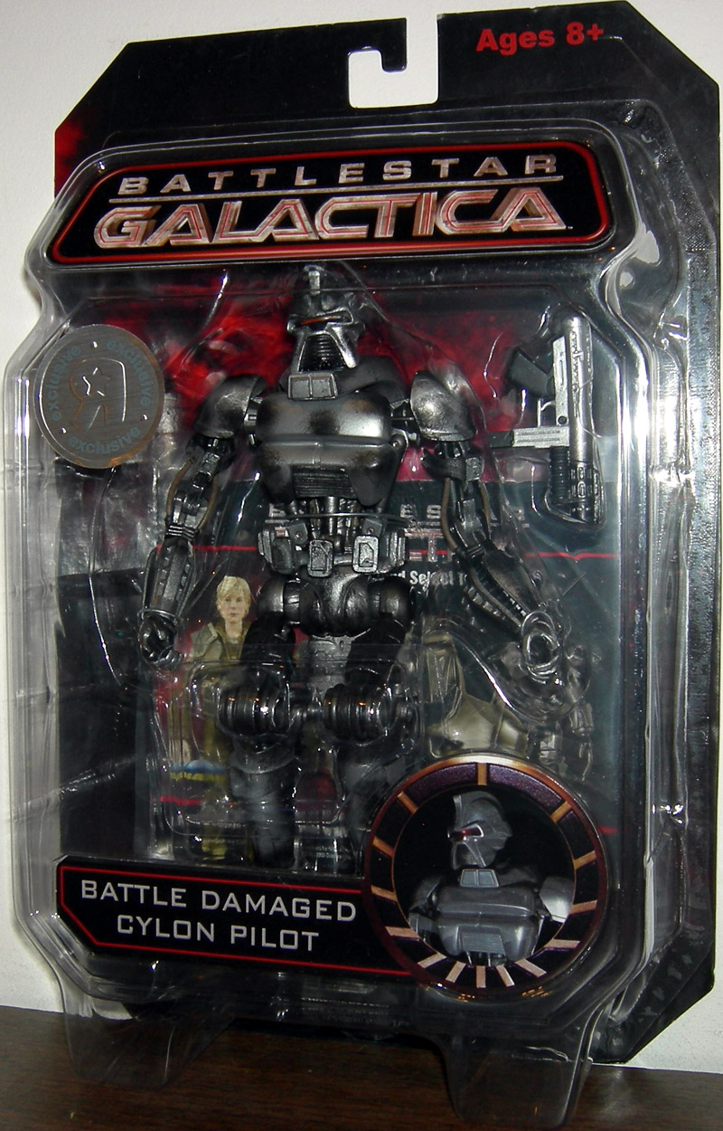 Battle Damaged Cylon Pilot (Toys R Us Exclusive)