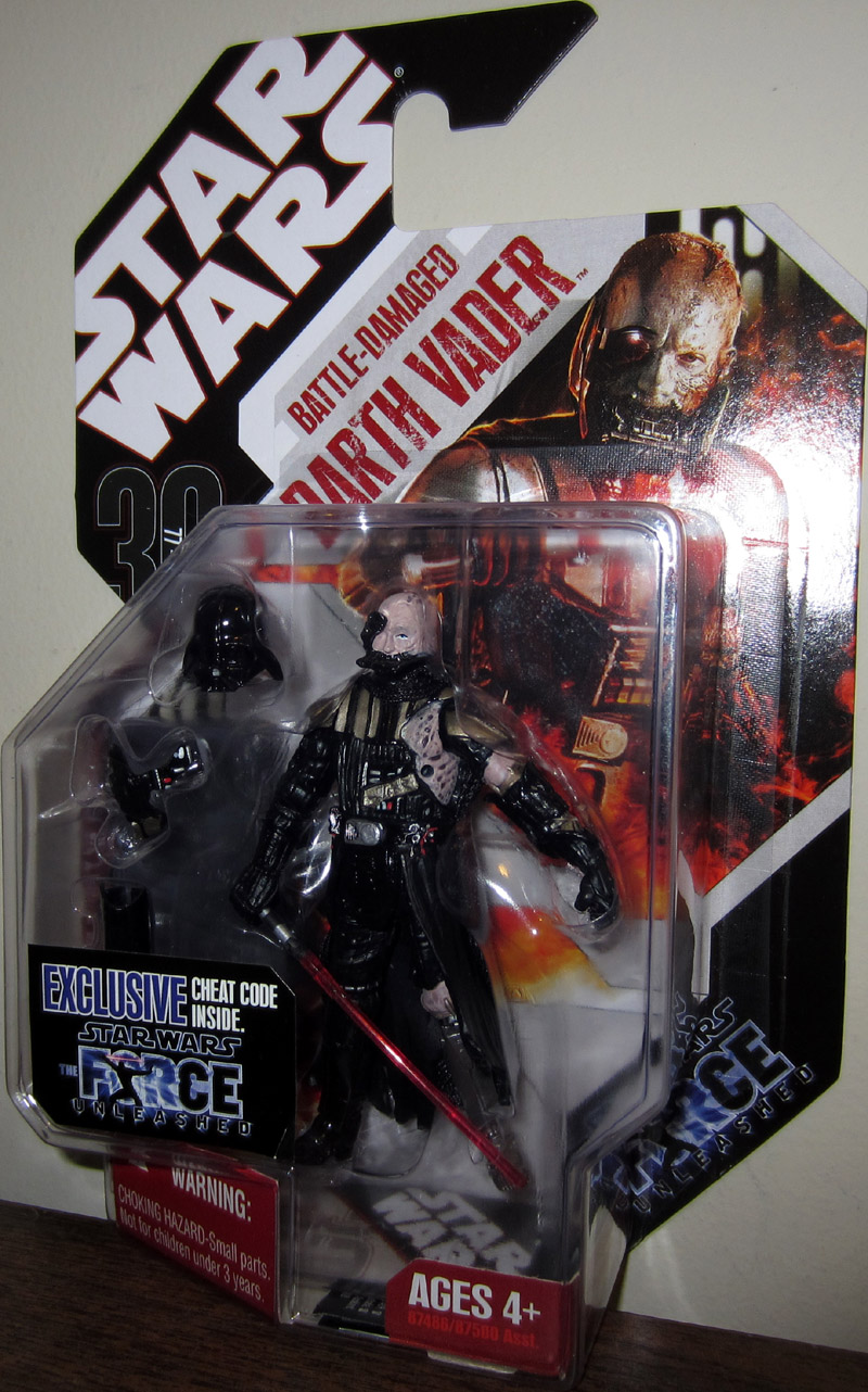 Battle-Damaged Darth Vader (30th Anniversary)