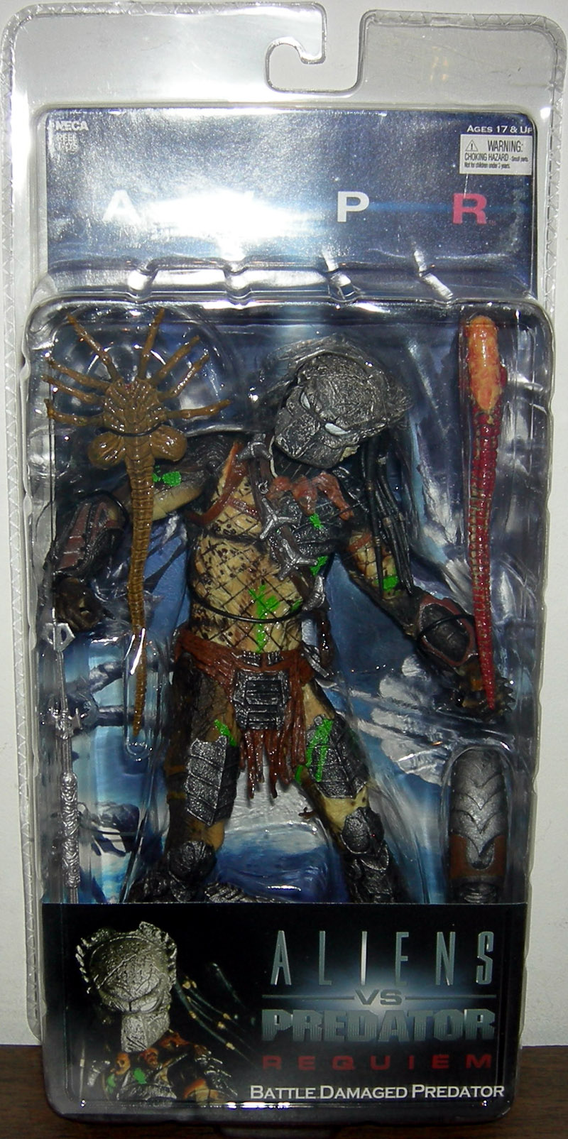 Battle Damaged Predator (masked)