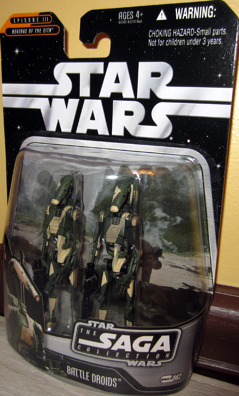 Hasbro Star Wars Saga Collection Battle Droids 062 /& Hologram Figure NEW