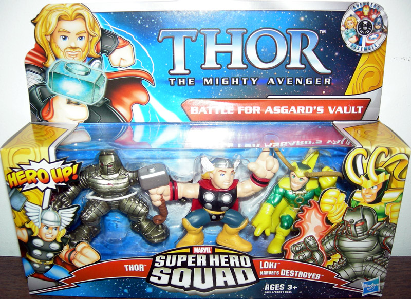 Battle for Asgard's Vault 3-Pack (Super Hero Squad)