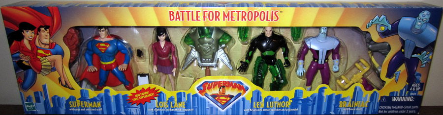 Battle For Metropolis 4-Pack