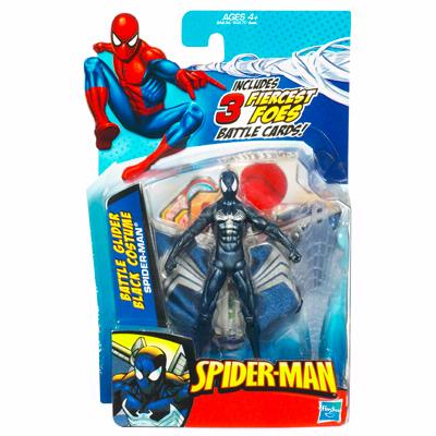 Battle Glider Black Costume Spider-Man