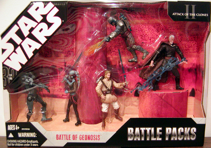 Battle of Geonosis Battle 5-Pack