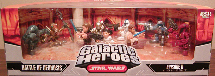 Battle of Geonosis 10-Pack (Galactic Heroes)