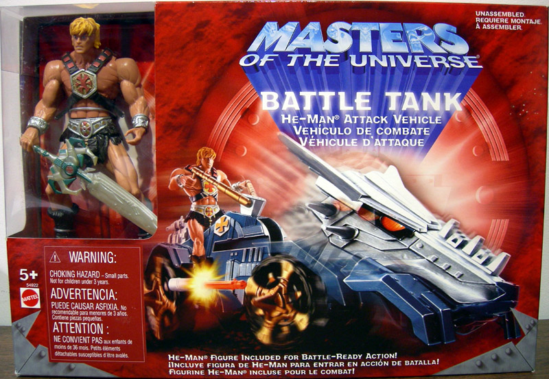Battle Tank He-Man Attack Vehicle