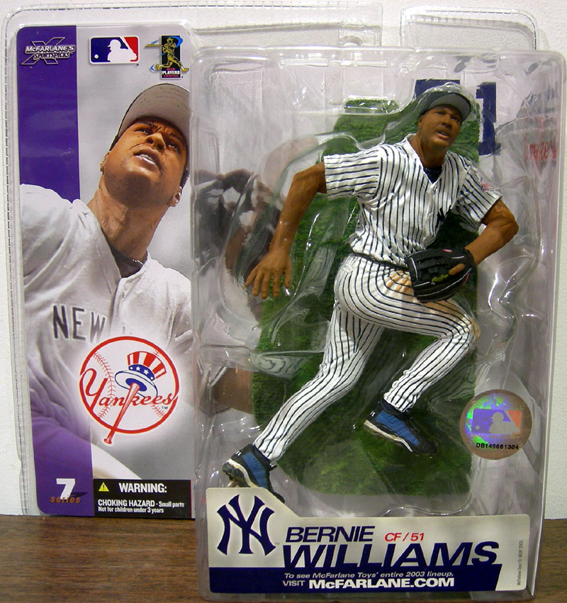 Bernie Williams (pinstriped uniform)