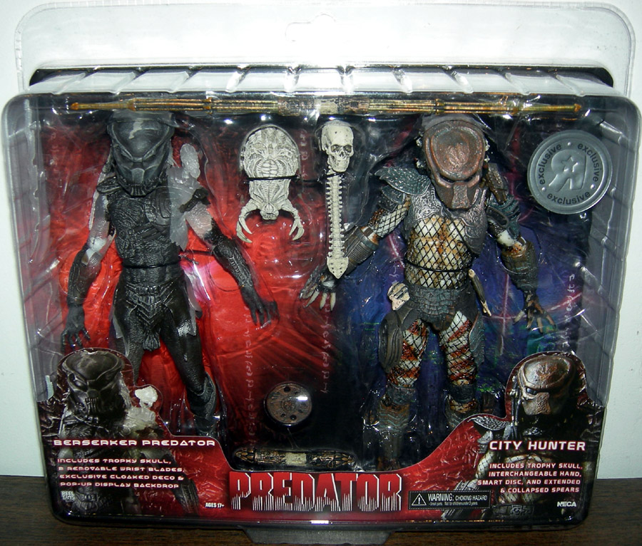 Predator Toys R Us : Berserker predator city hunter action figures