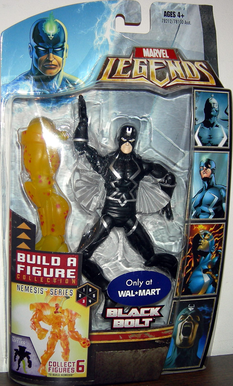Black Bolt (Marvel Legends, Nemesis series)