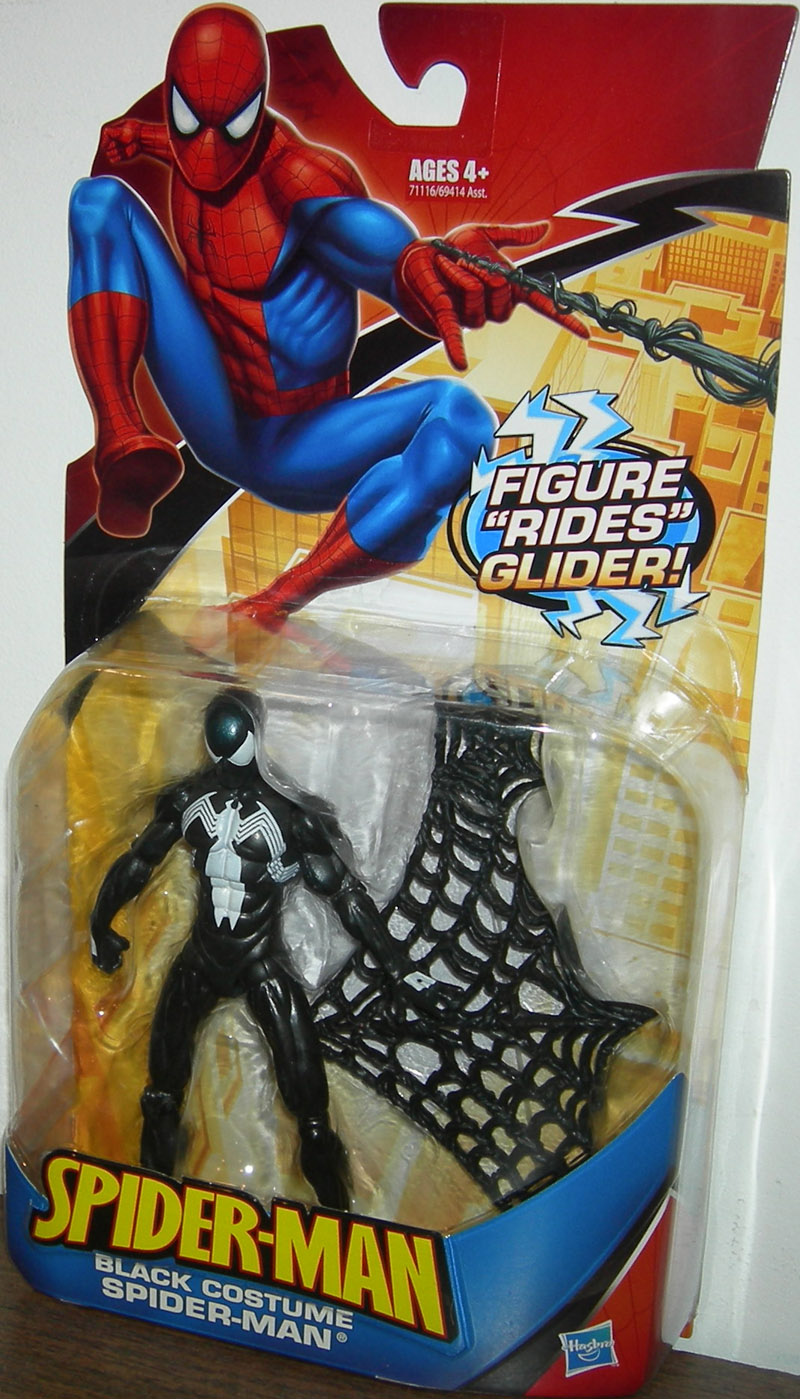 Black Costume Spider-Man (figure