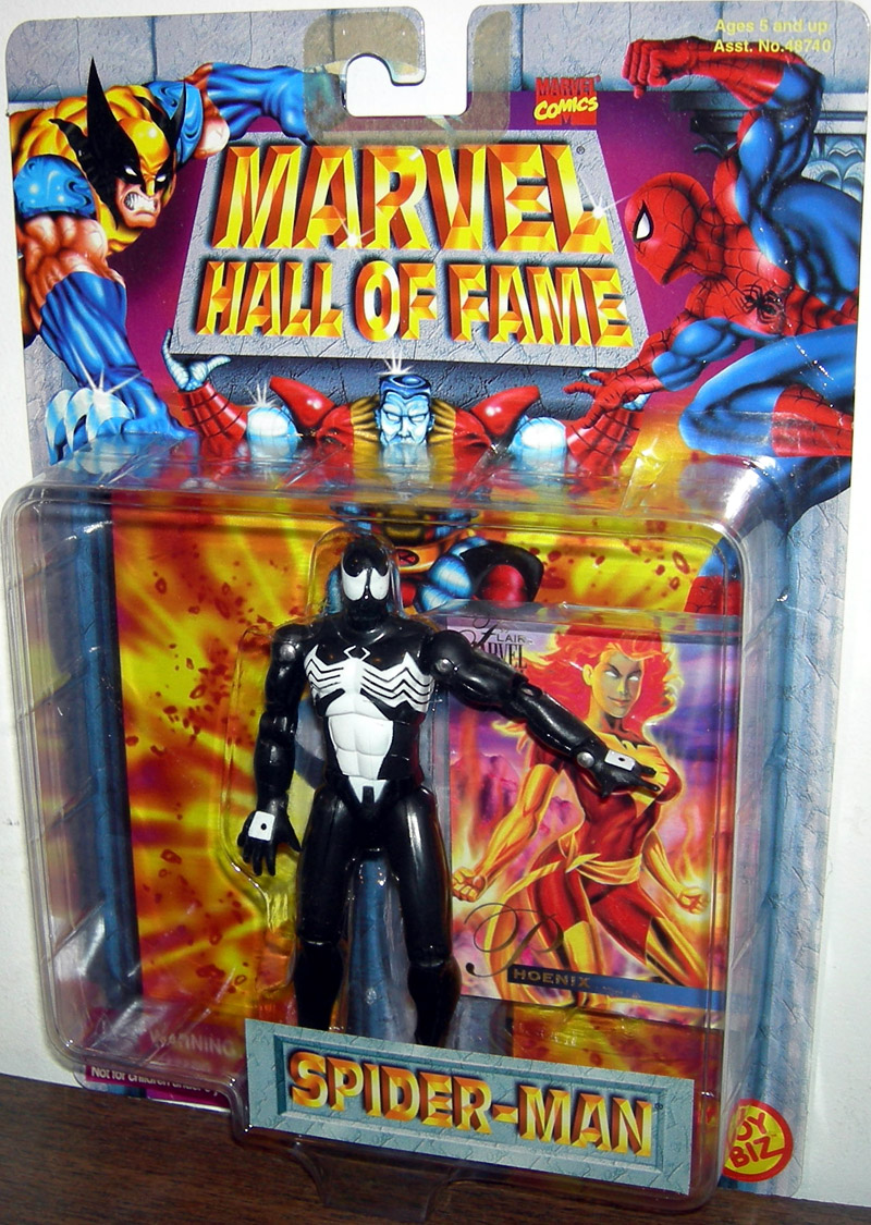Black Costume Spider-Man (Marvel Hall of Fame)