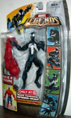 Black Costume Spider-Man (Marvel Legends, Red Hulk series)