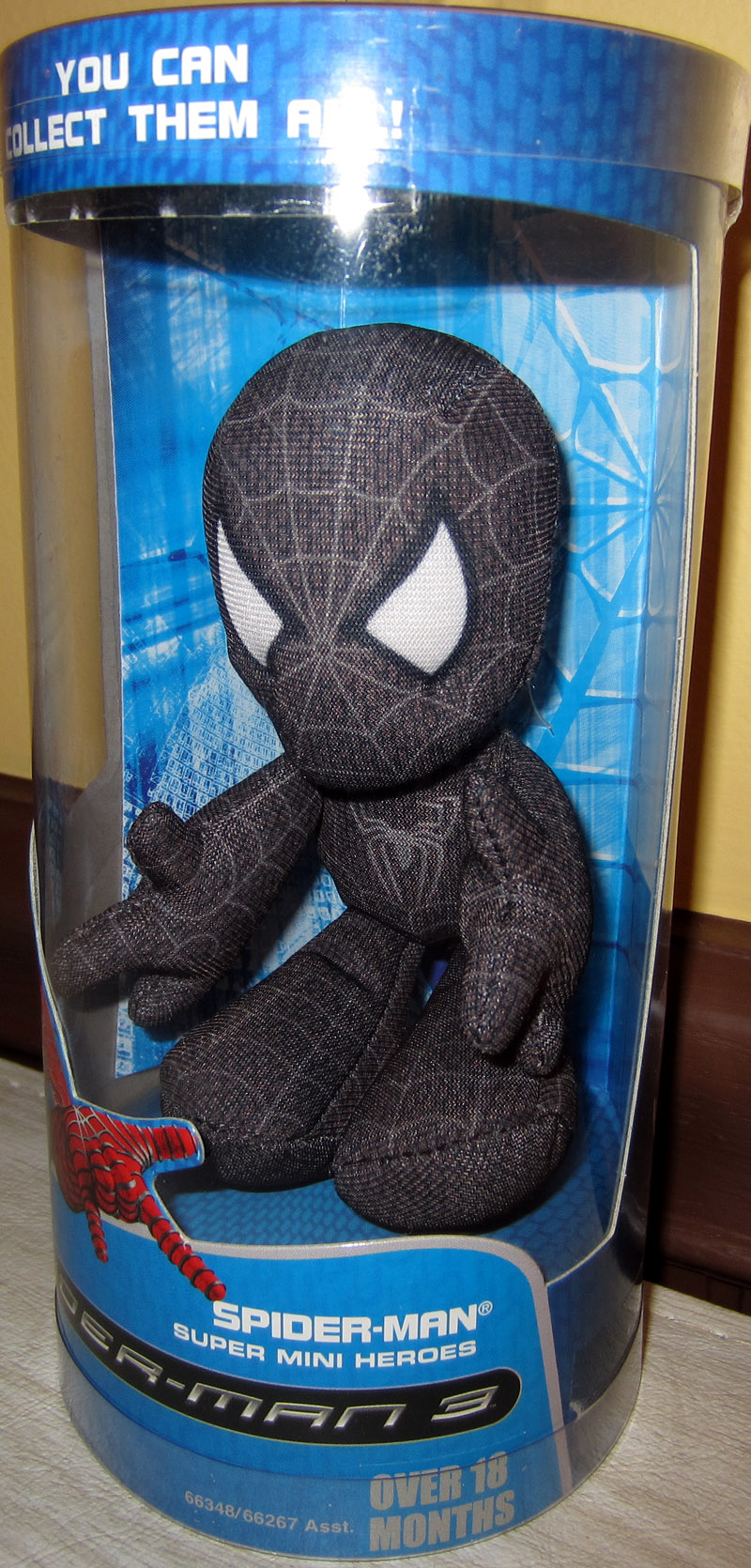 Black Costume Spider-Man 3 Super Mini Heroes Plush