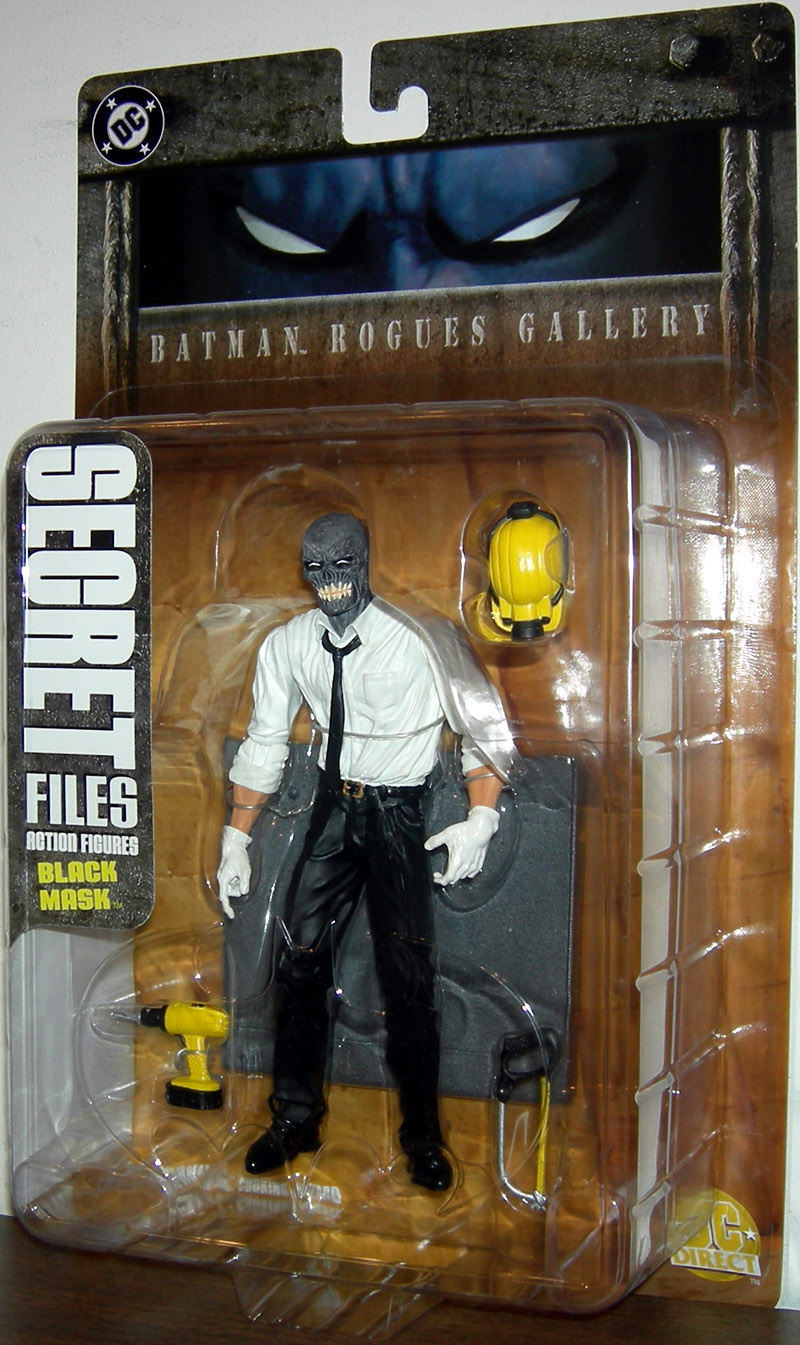 Black Mask (Secret Files: Batman Rogues Gallery)