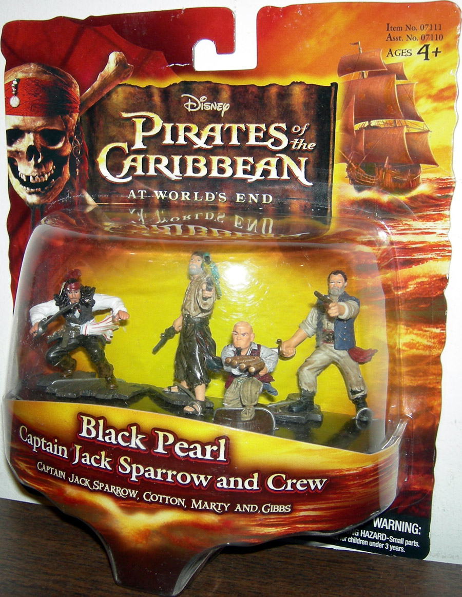 Black Pearl (Captain Jack Sparrow and Crew 2 1/2