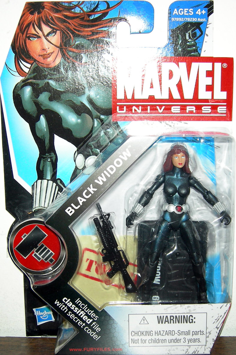 Black Widow (Marvel Universe, series 2, 011)