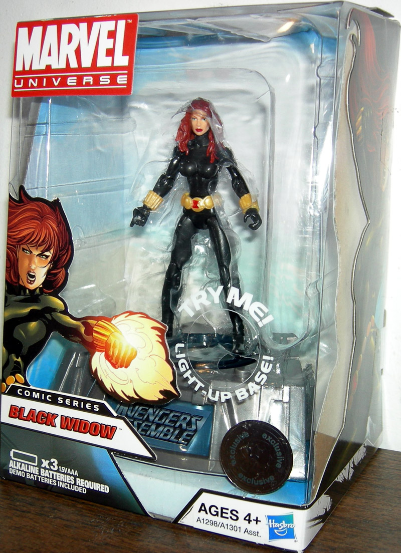Marvel Toys R Us : Black widow marvel universe toys r us exclusive