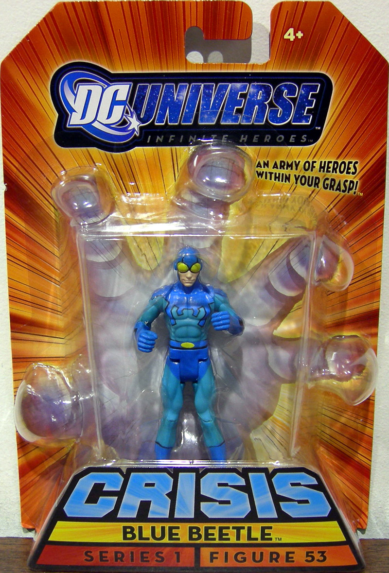 Blue Beetle (Infinite Heroes, figure 53)