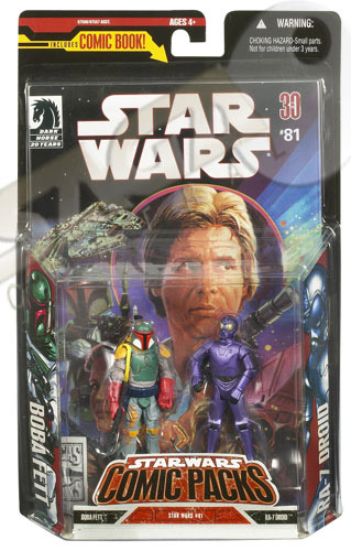 Boba Fett & RA-7 Droid (Comic Pack)