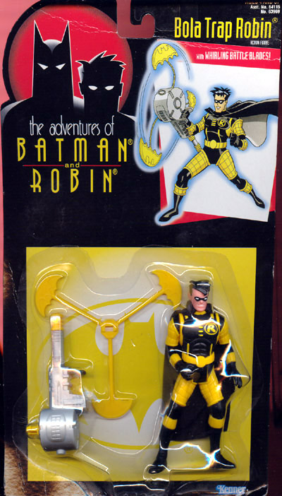 Bola Trap Robin (the adventures of Batman and Robin)