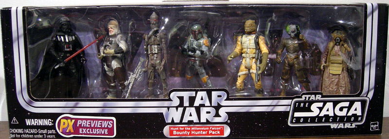 Hunt for the Millennium Falcon: Bounty Hunter 7-Pack