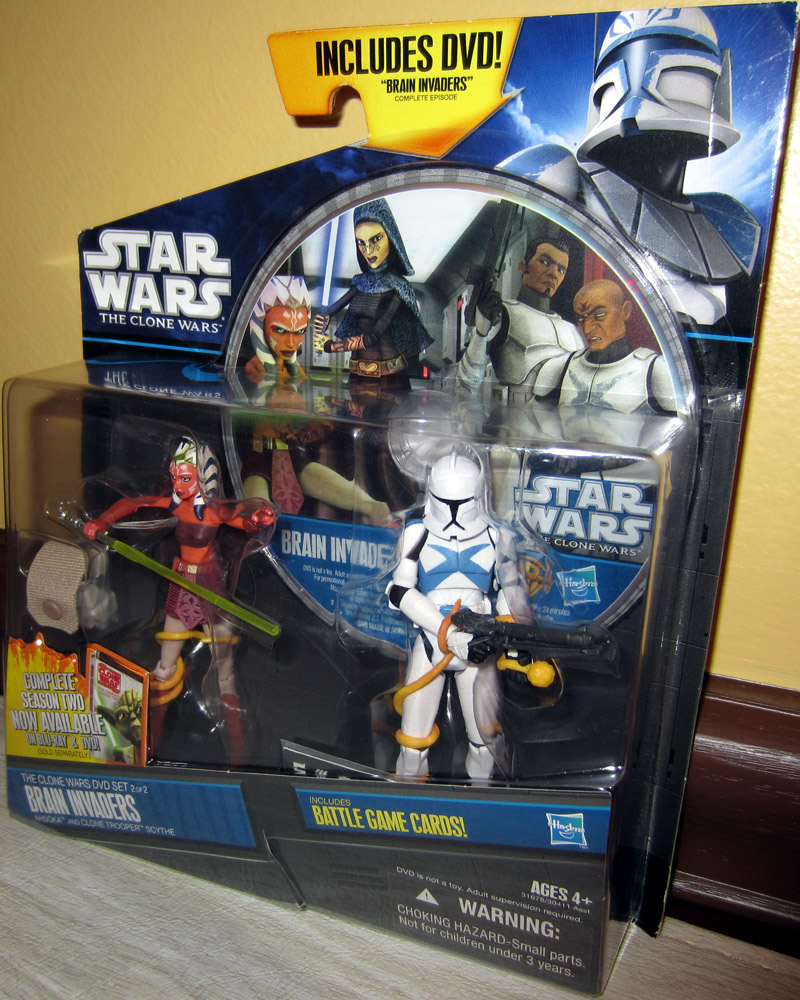 Brain Invaders (Ahsoka and Clone Trooper Scythe)