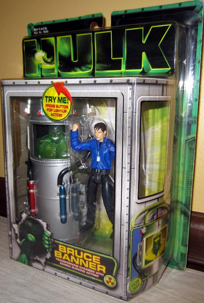 Bruce Banner Figure Hulk Movie Transforming Chamber Gamma ...