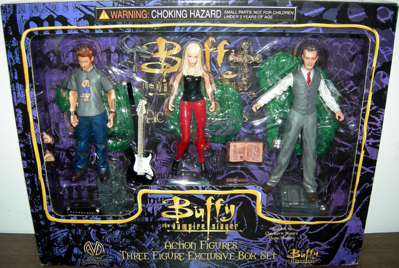Oz, Buffy & Giles 3-Pack