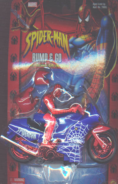 Spider-Man Bump & Go Cycle  with gear (Classic)