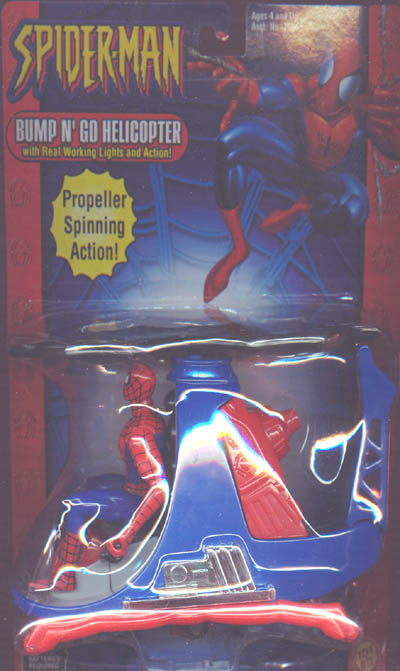 Spider-Man Bump 'N Go Helicopter (Classic)