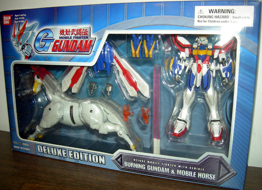 Burning Gundam & Mobile Horse