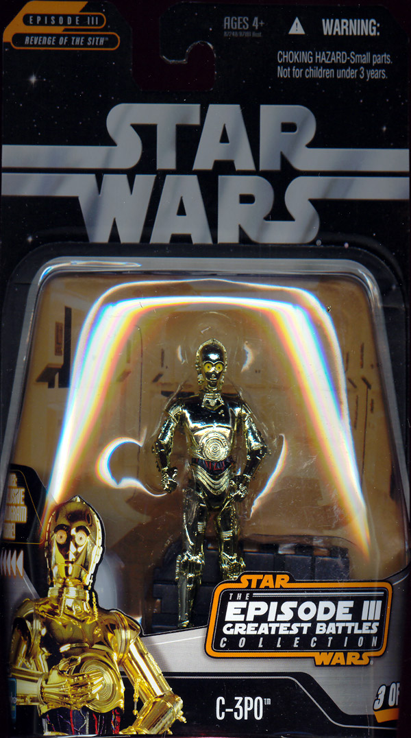 C-3PO (Episode III Greatest Battles Collection, 3 of 14)