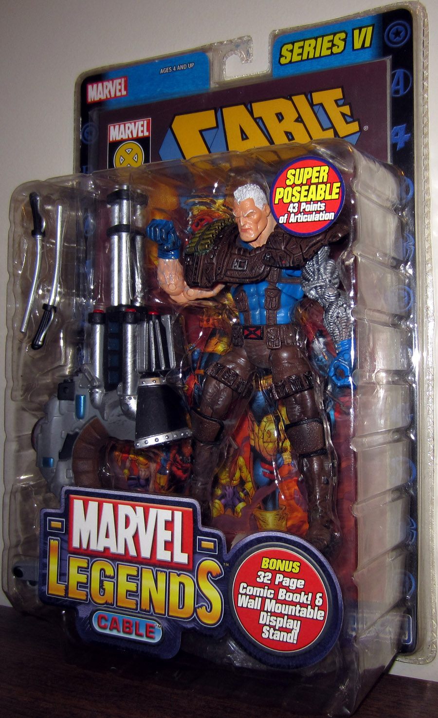 Cable (Marvel Legends, with brown legs)