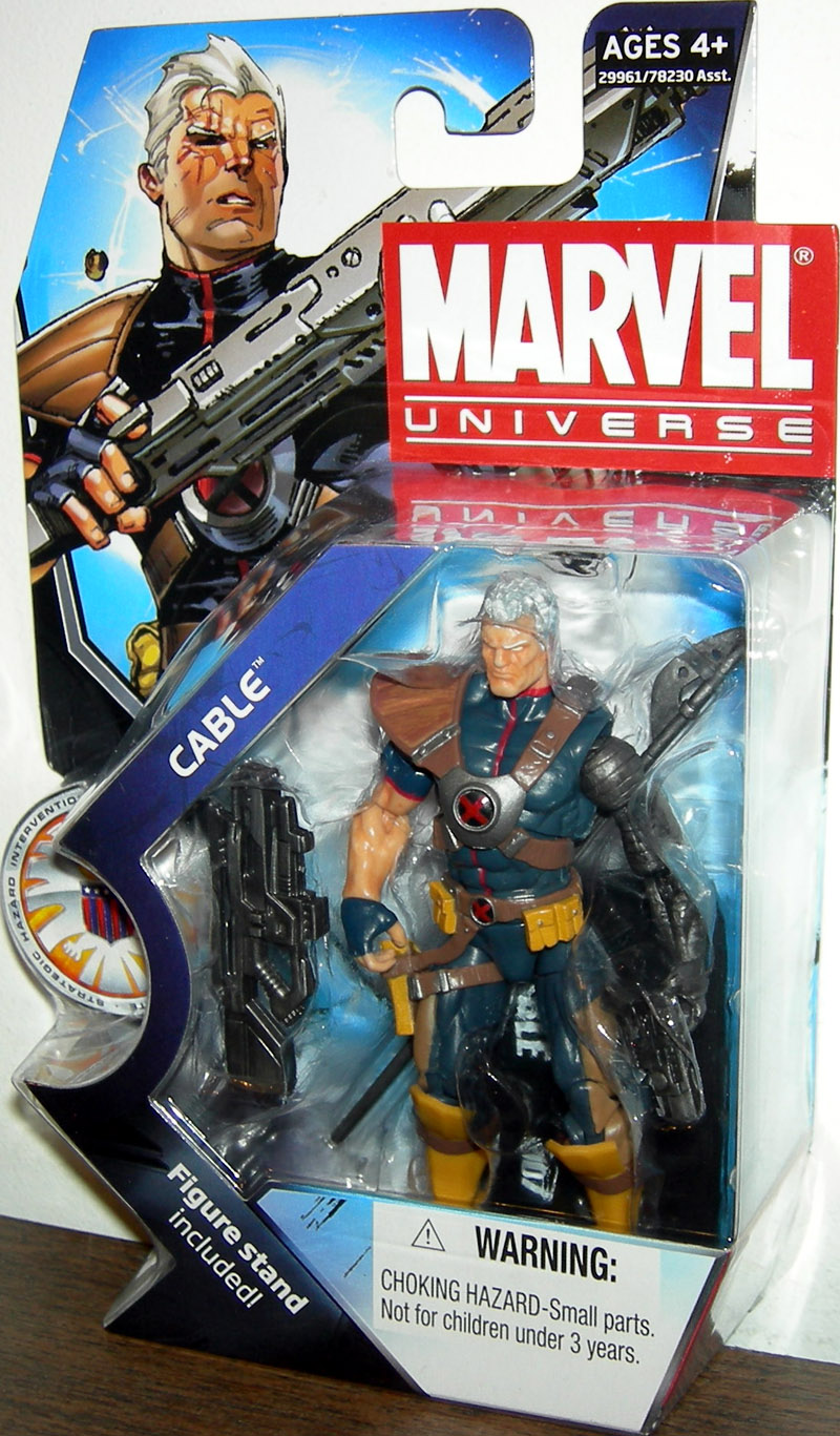 Cable (Marvel Universe, series 3, 007)