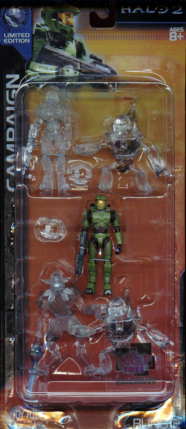 Campaign 5-Pack (Halo 2, Nonstop Toys Exclusive)