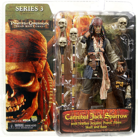 Cannibal Jack Sparrow (Dead Man's Chest, series 3)