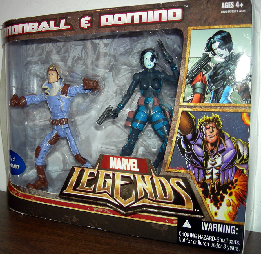 Cannonball & Domino (Marvel Legends)
