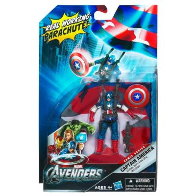 Captain America Aerial Infiltration Mission 02 (Avengers)