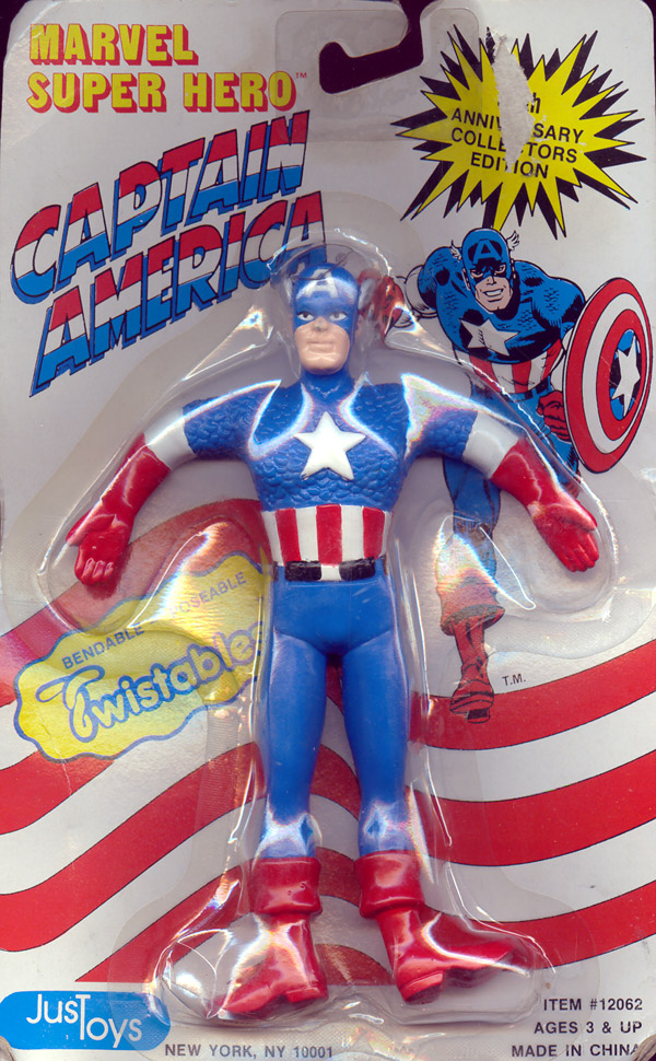 Captain America Bendy