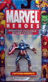 Captain America (Miniature Poseable Action Figure)