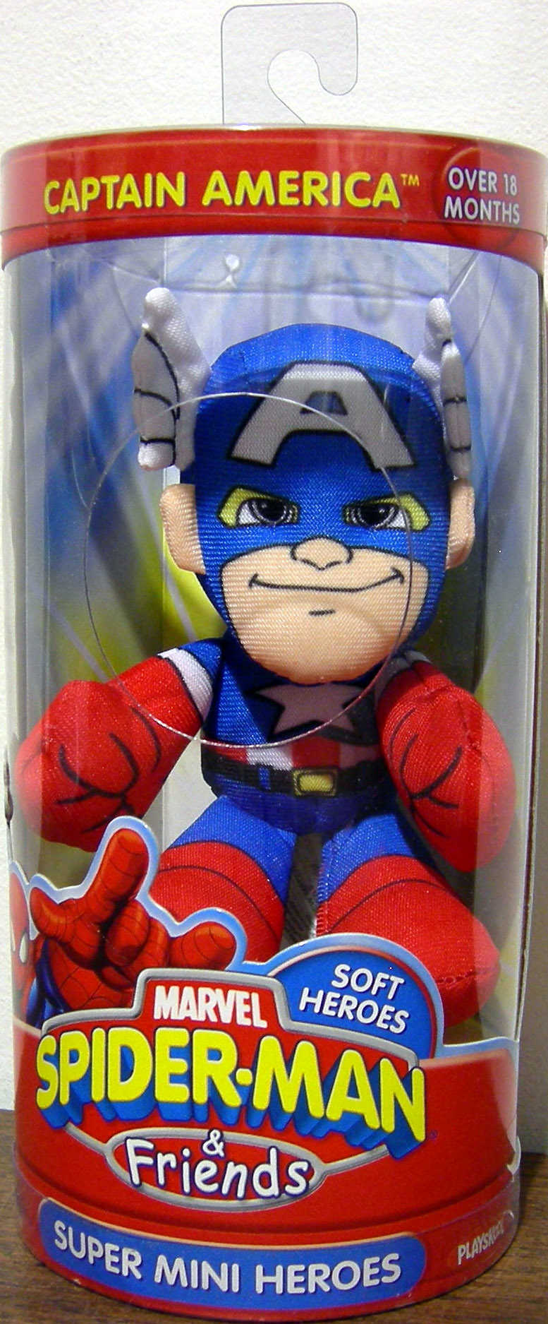 Captain America Super Mini Heroes Plush (Spider-Man & Friends)