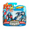Captain America & Motorcycle (Super Hero Squad)