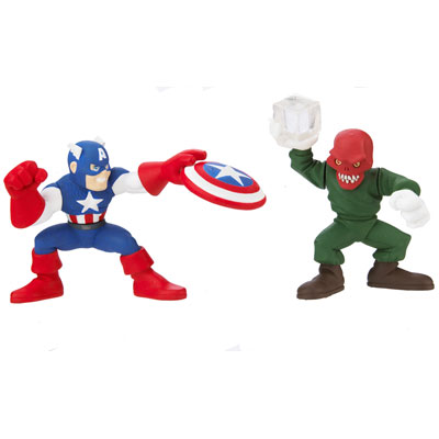 Captain America & Red Skull (Super Hero Squad)