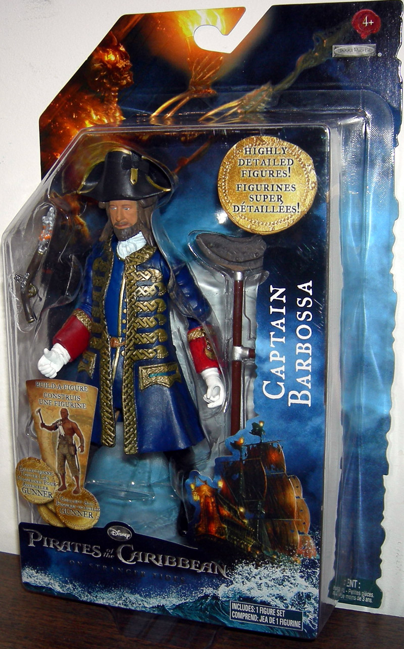 Captain Barbossa (On Stranger Tides, build-a-figure)